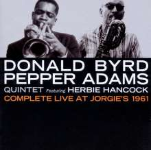 Donald Byrd & Pepper Adams: Complete Live At Jorgie's 1961, CD