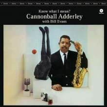 Cannonball Adderley (1928-1975): Know What I Mean? (180g) (Limited Edition), LP