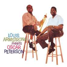 Louis Armstrong & Oscar Peterson: Louis Armstrong Meets Oscar Peterson (18 Tracks), CD