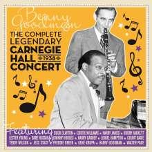 Benny Goodman (1909-1986): The Complete Legendary Carnegie Hall 1938 Concert, 2 CDs