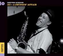 Dexter Gordon (1923-1990): Go / A Swingin' Affair, CD