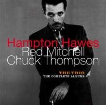 Hampton Hawes, Red Mitchell & Chuck Thompson: The Trio - The Complete Albums + 6 Bonus Tracks, 2 CDs