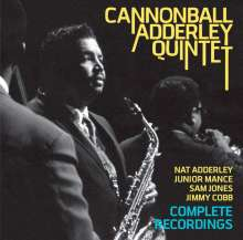 Cannonball Adderley (1928-1975): Complete Recordings, 2 CDs