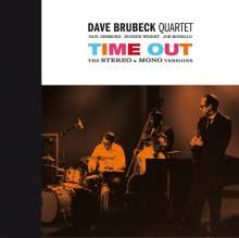 Dave Brubeck (1920-2012): Time Out: Stereo & Mono Versions (remastered) (180g) (Limited-Numbered-Edition), 2 LPs