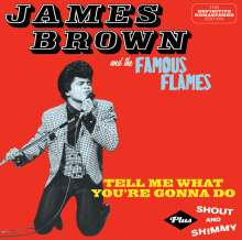 James Brown: Tell Me What You'r Gonna Do / Shout And Shimmy, CD