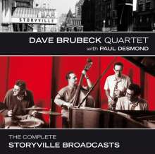 Dave Brubeck (1920-2012): The Complete Storyville Broadcasts, 3 CDs