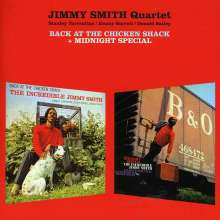 Jimmy Smith (Organ) (1928-2005): Back At The Chicken Shack / Midnight Special, CD