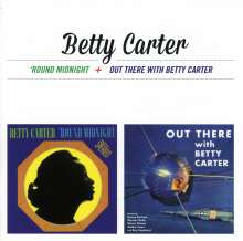 Betty Carter (1930-1998): Round Midnight / Out There With Betty Carter, CD