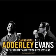 Julian 'Cannonball' Adderley & Bill Evans: The Legendary Quartet / Quintet Sessions, 2 CDs