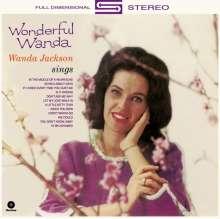 Wanda Jackson: Wonderful Wanda + 4 Bonus Tracks (180g) (Limited-Edition), LP