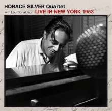 Horace Silver (1933-2014): Live In New York 1953, CD