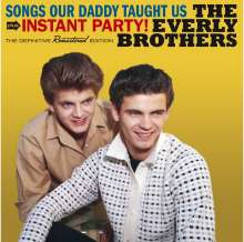 The Everly Brothers: Songs Our Daddy Taught Us / Instant Party!, CD