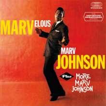 Marv Johnson: Marvelous Marv Johnson / More Marv Johnson + 6 Bonustracks, CD