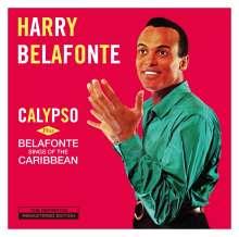 Harry Belafonte: Calypso / Belafonte Sings Of The Caribbean (+ 3 Bonustracks), CD