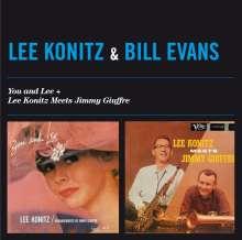 Lee Konitz & Bill Evans: You And Lee + Lee Konitz  Meets Jimmy Giuffre, CD