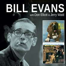 Bill Evans (Piano) (1929-1980): The Mello Sound Of Don Elliott / Listen To The Music Of Jerry Wald, CD