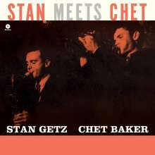 Stan Getz & Chet Baker: Stan Meets Chet (remastered) (180g) (Limited-Edition), LP