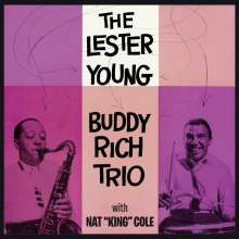 Lester Young & Buddy Rich: With Nat King Cole + 8 Bonus Tracks, CD