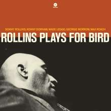Sonny Rollins (geb. 1930): Rollins Plays For Bird (remastered) (180g) (Limited Edition), LP