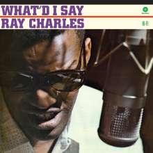 Ray Charles: What'd I Say (180g) (Limited Edition) (+ 2 Bonustracks), LP
