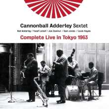 Cannonball Adderley (1928-1975): Complete Live In Tokyo 1963, 2 CDs