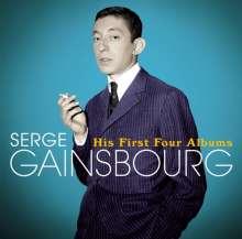 Serge Gainsbourg (1928-1991): His First Four Albums (+ 18 Bonus Tracks), 2 CDs