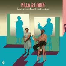 Louis Armstrong & Ella Fitzgerald: Ella & Louis (remastered) (180g) (Limited Edition), 2 LPs