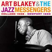 Art Blakey (1919-1990): Holland 1958 / Newport 1959 + Bonus, 2 CDs