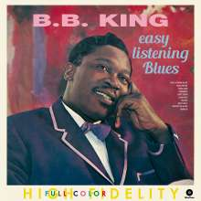 B.B. King: Easy Listening Blues (180g) (Limited Edition) + 4 Bonus Tracks, LP