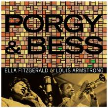 Louis Armstrong & Ella Fitzgerald: Porgy & Bess (180g) (Limited Edition), 2 LPs