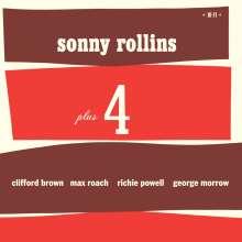 Sonny Rollins (geb. 1930): Plus 4 (180g) (Limited-Edition) (+2 Bonustracks), LP