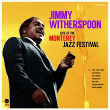 Jimmy Witherspoon: Live At The Monterey Jazz Festival (180g) (Limited-Edition) (+ 2 Bonustracks), LP