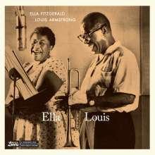 Louis Armstrong & Ella Fitzgerald: Ella & Louis (+1 Bonustrack) (180g) (Limited Edition), LP
