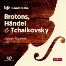 Salvador Brotons (geb. 1959): Konzert für Viola & Streichorchester op.106, Super Audio CD