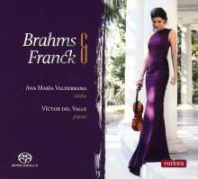 Johannes Brahms (1833-1897): Sonate für Violine & Klavier Nr.3 (op.108), Super Audio CD