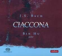 Johann Sebastian Bach (1685-1750): Gitarrenwerke BWV 1001 & 1003, Super Audio CD