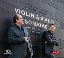 Aitzol Iturriagagoitia & Enrique Bagaria - Violine & Piano Sonatas, Super Audio CD