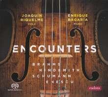 Joaquin Riquelme & Enrique Bagaria - Encounters, Super Audio CD