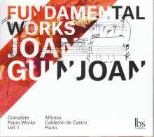 Joan Guinjoan (geb. 1931): Klavierwerke Vol.1, CD