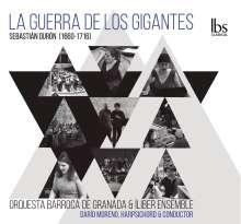 Sebastian Duron (1660-1716): La Guerra De Los Gigantes, CD