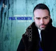 Paul Hindemith (1895-1963): Sonaten für Viola solo, CD