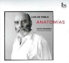 Luis de Pablo (geb. 1930): Concierto de Camara für Klavier & Orchester, CD
