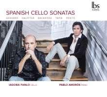 Iagoba Fanlo & Pablo Amoros - Spanish Cello Sonatas, CD