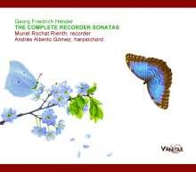 Georg Friedrich Händel (1685-1759): Flötensonaten op.1 Nr.1,2,4,7,9a, CD
