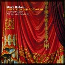 Mauro Giuliani (1781-1829): Ariette,Lieder & Cavatine für Tenor & Gitarre, CD