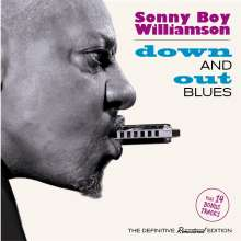 Sonny Boy Williamson II.: Down And Out Blues + 14 Bonus Tracks, CD