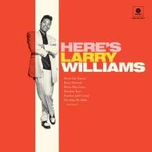 Larry Williams (1935-1980): Here's Larry Williams + 2 Bonustracks (180g) (Limited-Edition), LP