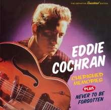 Eddie Cochran: Cherished Memories / Never To Be Forgotten + 8, CD