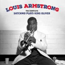 Louis Armstrong (1901-1971): The Complete Satchmo Plays King Oliver + 15, 2 CDs