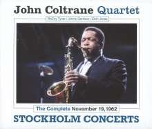 John Coltrane (1926-1967): Stockholm Concerts 1962, 3 CDs